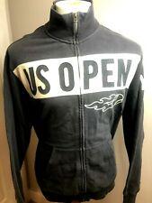 Men's US OPEN Full Zip Blue Grey Sweatshirt 2XL Tennis 47 Brand Banner Rare