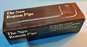 Pipa Ronson non fumata in scatola.