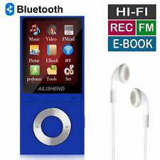 Portable 8Gb Bluetooth4.2 Mp3 Player Fm Radio Recorder Hifi Lossless Music Media