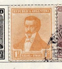 Argentine Republic 1916 Early Issue Fine Used 1c. 087379