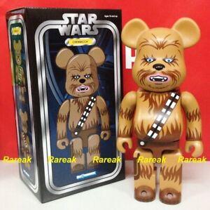 Medicom Bearbrick 2016 Star Wars Chewbacca Han Solo Partner 400% be@rbrick