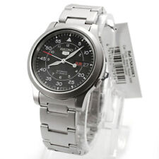 Seiko Silver Mens Analog Business 5 Automatic SNK809K1