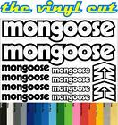 Mongoose T1 Die-cut decal / sticker sheet (cycling, mtb, bmx, road, bike)