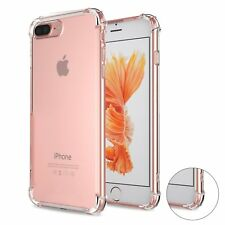 Lot of 5 For iPhone 7 8 Soft Clear TPU Back Skin Case Cover Bumper Protector