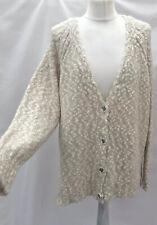 Next Xl Popcorn Bobble Knit Cardigan Bnwt With Wool Blend