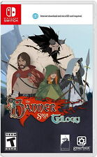 The Banner Saga Trilogy [Nintendo Switch Strategy RPG Turn-Based Gearbox] NEW