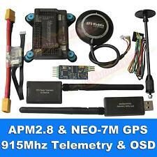 APM2.8 Flight Controller + NEO-7M GPS, 3DR 915Mhz Telemetry, OSD, Power Module