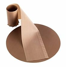 Bake-O-Glide Circle and Frilled Wall Liner, Brown, 8-Inch