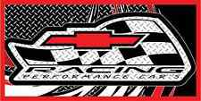 Chevy Racing Banner Full Color Vinyl Mechanic Garage Shop Display Graphics