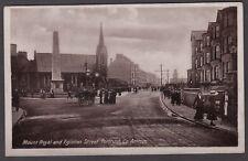 Postcard Portrush County Antrim Northern Ireland early Mount Royal Eglinton St