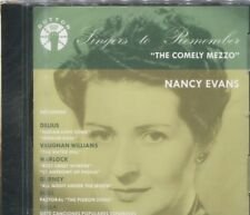 The Comely Mezzo (CD, May-2002, Dutton Laboratories) - Nancy Evans