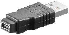 USB 2.0 Hi-Speed Adapter A-Stecker > 5 pol. mini B-Buchse