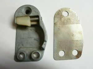 NORS 1959-1962 FORD MERCURY EDSEL TBIRD DOOR LOCK STRIKER PLATE & SHIM, RH