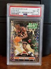 1992-93 Stadium Club Members Only Beam Team Glen Rice #8 PSA 8 NM-MT