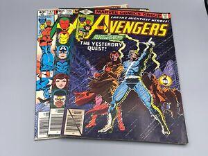 Marvel Comics Avengers #185/186/187 (1963) 1st Chthon/Magda, Origin Wanda/Pietro