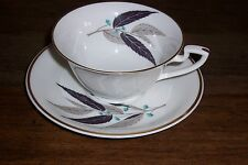 ARROWHEAD Royal Worcester Bone China Made in England - cup & saucer set -9 avail