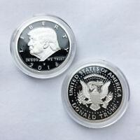 2016 US American Presidential Campaign Donald Trump EAGLE Commemorative Coin USA