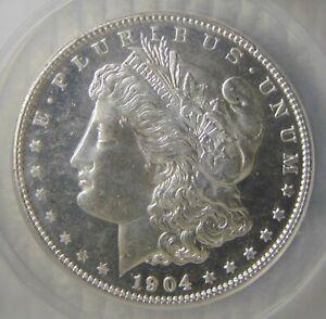 1904 O Morgan Silver Dollar ~ ANACS MS62 DMPL, DEEP MIRROR PROOF LIKE, NICE!