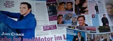 John Cusack 54 pc German Clippings Collection