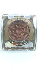 L'Oréal Ombretto CROMO intensità 184 CACAO MARRONE POLVERE (confezione da 3)