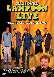 NATIONAL LAMPOON LIVE NEW FACES VOLUME TWO DVD LIKE NEW NEVER VIEWED CALIENDO
