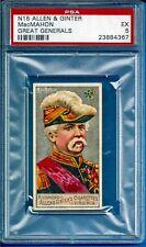 1888 Allen & Ginter N15 Great Generals MacMahon Psa 5