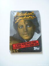 Booster Card Bubble Gum Michael Jackson Topps 1984 [ New ]
