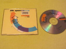 Lift : Open 808 State CD Single ZTT Records Dance Electronica