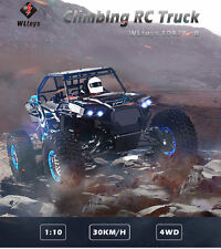 WLtoys 10428 - B 1:10 4WD RC Car Climbing Truck 30km/h - RTR Off-Road HIGH SPEED