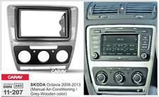 CARAV 11-207 2-DIN Marco Adaptador de radio SKODA Octavia 2008-2013 (Manual A/C)