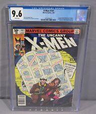 THE UNCANNY X-MEN #141 (Days of Future Past) White pgs. CGC 9.6 NM+ Marvel 1981