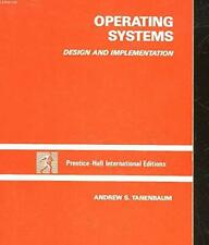 Operating Systems: Design and Implementatio. by Andrew S. Tanenbaum 0136373313