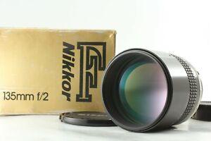 [MINT IN BOX] NIKON NIKKOR AI-S AIS 135mm F/2 F2 Prime Telephoto MF LENS JAPAN