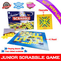 Junior Scrabble World Board Game Kids Adult Educational Toy Family Party Gifts