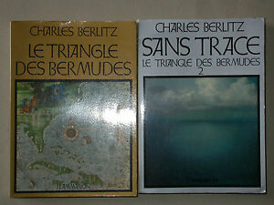 Le triangle des Bermudes 2 vol. Ch. Berlitz - OVNI disparition - éd. illustrée