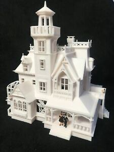 Gold Rush Bay HO-Scale Miniature Victorian20 Practical Witch Magic White 1:87