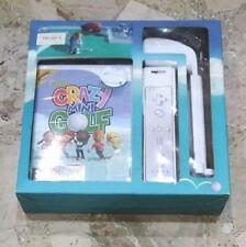 Crazy Mini Golf + Mazza Da Golf - Nintendo Wii