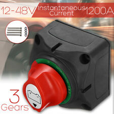 300A 12V-48V Battery Selector Switch Instantaneous Current 1200A For RV Car