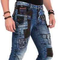 CIPO & BAXX  MATRIX JEANS DENIM STRAIGHT CUT ALL SIZES