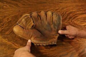 """Vintage MacGregor """"G22"""" Richie Ashburn Leather Baseball Glove"""