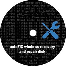 Windows XP-Vista-7-8-8.1-10 autoFIX Repair & Recovery Boot Disk Software CD