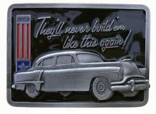 They'll Never Build Them Like This Again Officially Licensed Belt Buckle 2012