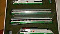 ACME 70001 ETR 500 Politensione livrea bianco/verde, logo FS Trenitalia
