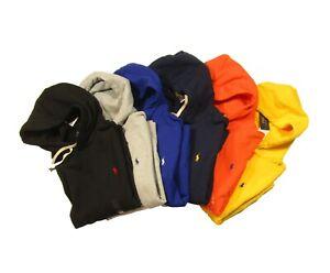 Polo Ralph Lauren Men's Solid Cotton Blend Fleece Lined Pullover Hoodie