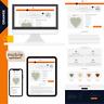 """eBay Template Auktionsvorlage """" ORANGE """"  Modern, Clear & Responsive Design!2020"""