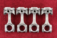 PISTON & CONNECTING ROD SET *NICE! 04-05 GSXR600 GSXR 600  complete pistons rods