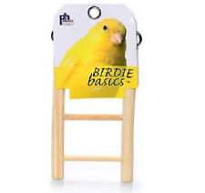 PREVUE RUNG WOOD LADDER 3 STEP BIRD CAGE TOY. FREE SHIPPING TO THE USA