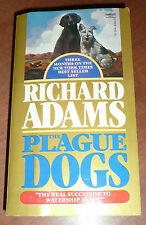 The Plague Dogs by Richard Adams (1977, Book) - UNREAD First Edition Paperback