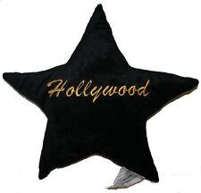 Hollywood Star Plush Pillow - Black - 3671
