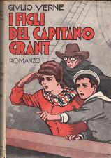 LETTERATURA VERNE GIULIO I FIGLI DEL CAPITANO GRANT 1936